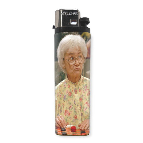 Golden Girls Sophia Lighter - Shady Front / Wholesale Prints, Patches, Buttons, Greetings Cards, New Jersey Apparel, Stickers, Accessories