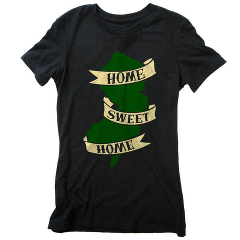 Home Sweet Home Girls Shirt - Shady Front / Wholesale Prints, Patches, Buttons, Greetings Cards, New Jersey Apparel, Stickers, Accessories