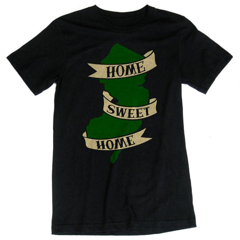 Home Sweet Home Guys Shirt - Shady Front / Wholesale Prints, Patches, Buttons, Greetings Cards, New Jersey Apparel, Stickers, Accessories