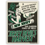 Jersey Devil's Harvest Sticker