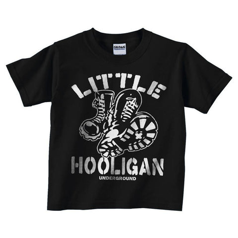 Little Hooligan Kids Shirt - Shady Front / Wholesale Prints, Patches, Buttons, Greetings Cards, New Jersey Apparel, Stickers, Accessories