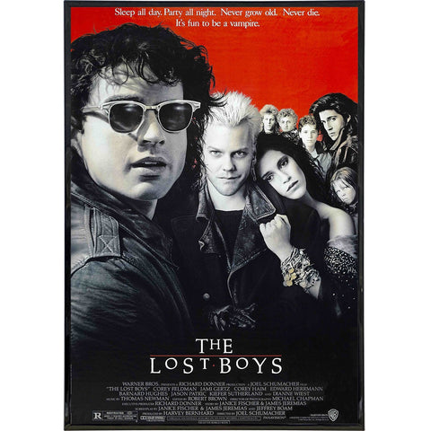 The Lost Boys Film Poster Print - Shady Front / Wholesale Prints, Patches, Buttons, Greetings Cards, New Jersey Apparel, Stickers, Accessories