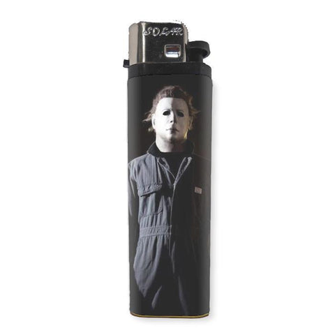 Michael Myers Lighter - Shady Front / Wholesale Prints, Patches, Buttons, Greetings Cards, New Jersey Apparel, Stickers, Accessories