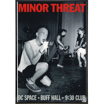 Minor Threat Tour Poster Print - Shady Front / Wholesale Prints, Patches, Buttons, Greetings Cards, New Jersey Apparel, Stickers, Accessories