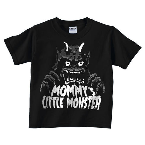Mommy's Little Monster Kids Shirt