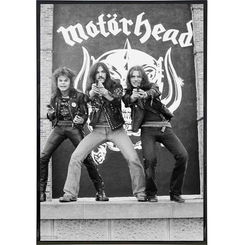 Motorhead Band Photo Print - Shady Front / Wholesale Prints, Patches, Buttons, Greetings Cards, New Jersey Apparel, Stickers, Accessories