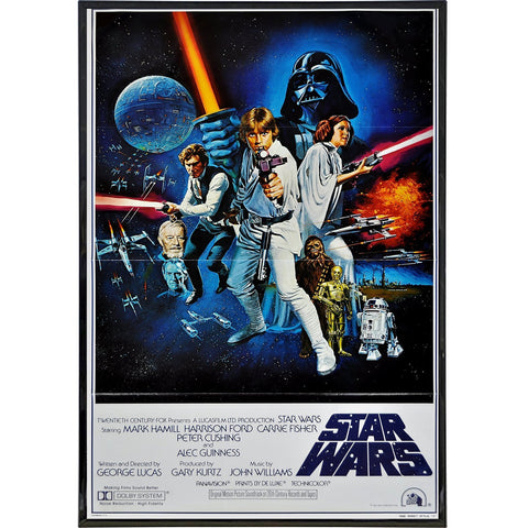 1977 Star Wars International Film Poster Print - Shady Front