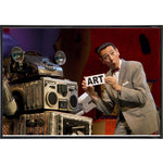 "Pee Wee Herman ""Art"" Print - Shady Front / Wholesale Prints, Patches, Buttons, Greetings Cards, New Jersey Apparel, Stickers, Accessories"