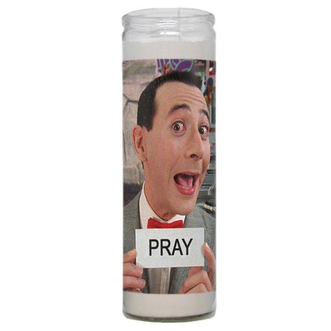 Pee Wee Herman Prayer Candle - Shady Front Wholesale