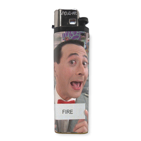Pee Wee Herman Lighter - Shady Front / Wholesale Prints, Patches, Buttons, Greetings Cards, New Jersey Apparel, Stickers, Accessories