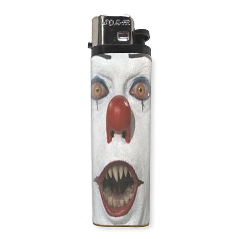 Pennywise Clown Lighter - Shady Front / Wholesale Prints, Patches, Buttons, Greetings Cards, New Jersey Apparel, Stickers, Accessories