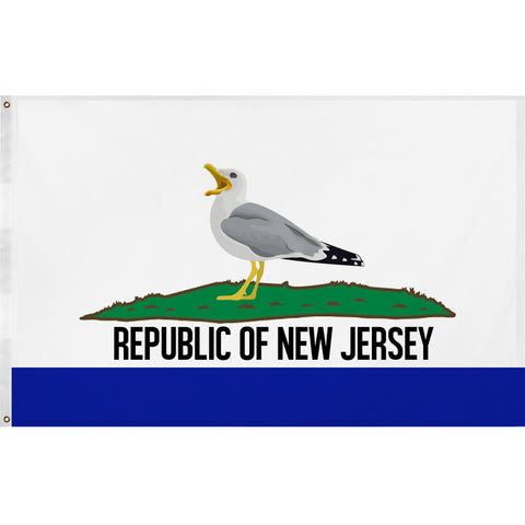 Republic of New Jersey Flag