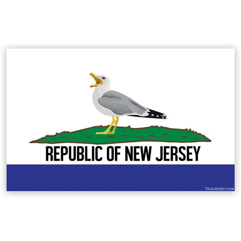 Republic of New Jersey Magnet