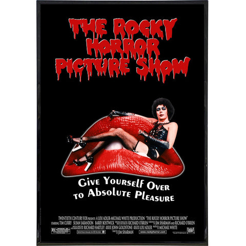 Rocky Horror Picture Show Film Poster Print - Shady Front / Wholesale Prints, Patches, Buttons, Greetings Cards, New Jersey Apparel, Stickers, Accessories