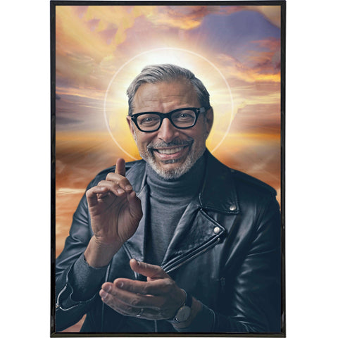 Jeff Goldblum Photo Print - Shady Front / Wholesale Prints, Patches, Buttons, Greetings Cards, New Jersey Apparel, Stickers, Accessories