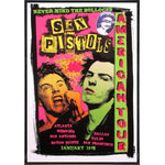 Sex Pistols American Tour Poster Print - Shady Front / Wholesale Prints, Patches, Buttons, Greetings Cards, New Jersey Apparel, Stickers, Accessories