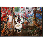 CBGB Bathroom Photo Print - Shady Front / Wholesale Prints, Patches, Buttons, Greetings Cards, New Jersey Apparel, Stickers, Accessories