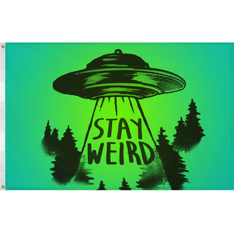 Stay Weird Flag