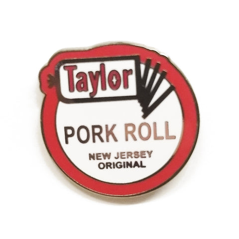 Taylor Pork Roll Enamel Pin