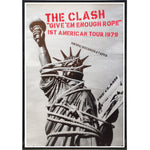 The Clash Show Poster Print - Shady Front / Wholesale Prints, Patches, Buttons, Greetings Cards, New Jersey Apparel, Stickers, Accessories