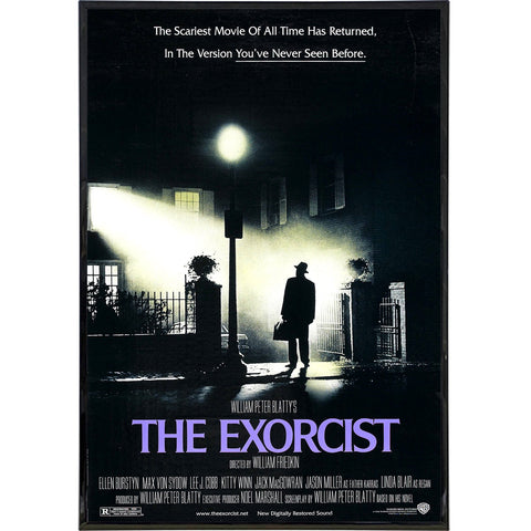 The Exorcist Film Poster Print - Shady Front / Wholesale Prints, Patches, Buttons, Greetings Cards, New Jersey Apparel, Stickers, Accessories