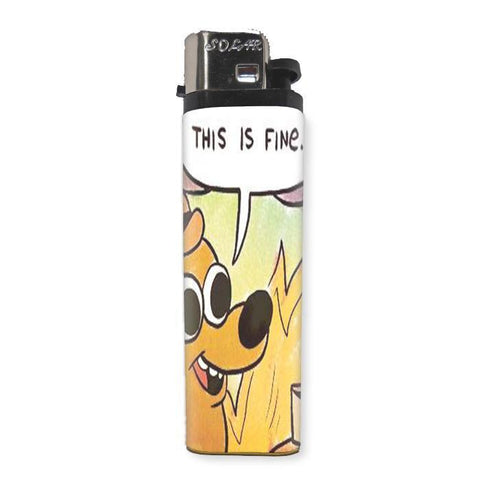 This is Fine Lighter - Shady Front / Wholesale Prints, Patches, Buttons, Greetings Cards, New Jersey Apparel, Stickers, Accessories