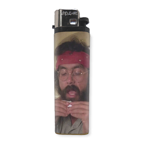 Tommy Chong Lighter - Shady Front / Wholesale Prints, Patches, Buttons, Greetings Cards, New Jersey Apparel, Stickers, Accessories