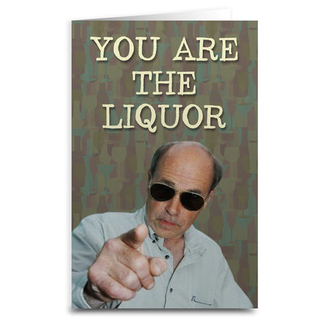 Trailer Park Boys Lahey Card - Shady Front / Wholesale Prints, Patches, Buttons, Greetings Cards, New Jersey Apparel, Stickers, Accessories