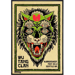 Wu Tang Bumbershoot Fest Poster Print - Shady Front / Wholesale Prints, Patches, Buttons, Greetings Cards, New Jersey Apparel, Stickers, Accessories