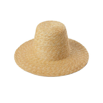 Topped Straw Sun Hat