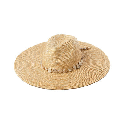 Shelly Straw Hat
