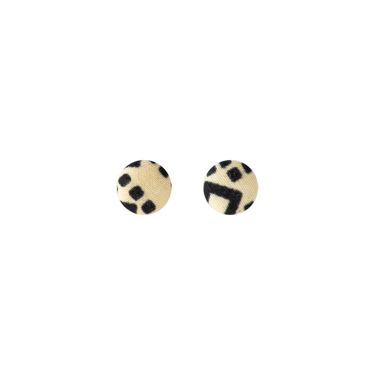 Button Earrings - Small