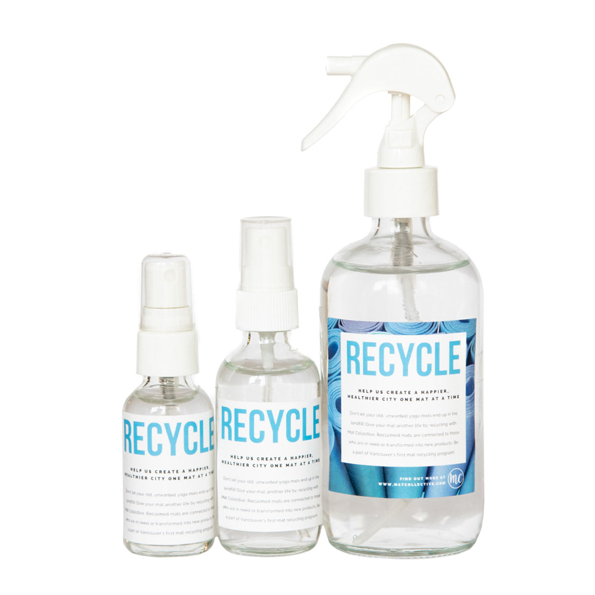 Citrus Disinfectant Spray - Glass Bottles
