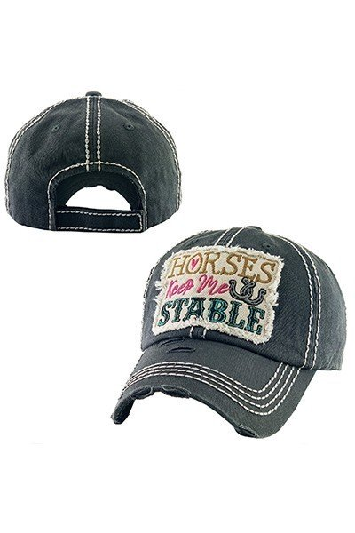 Pre-orders $24.99  horses keep me stable ball hat Look at all the colors to pick from