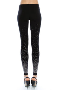 Rhinestone Crystal Leggings