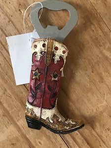 Cowboy boot bottle opener look at the styles to choose from