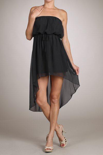 Summer Fashion High Low Dress