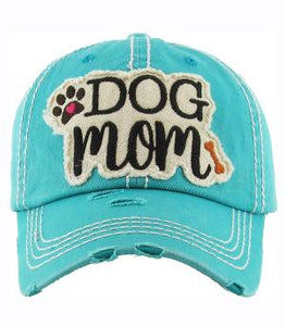 Dog Mom ball hat Look at all the colors to pick from look at our other colors