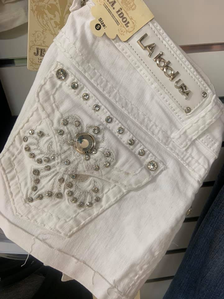 La Idol Shorts Size Small, W/Jewels