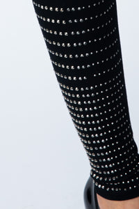 Vocal  Rhinestone Crystal Leggings