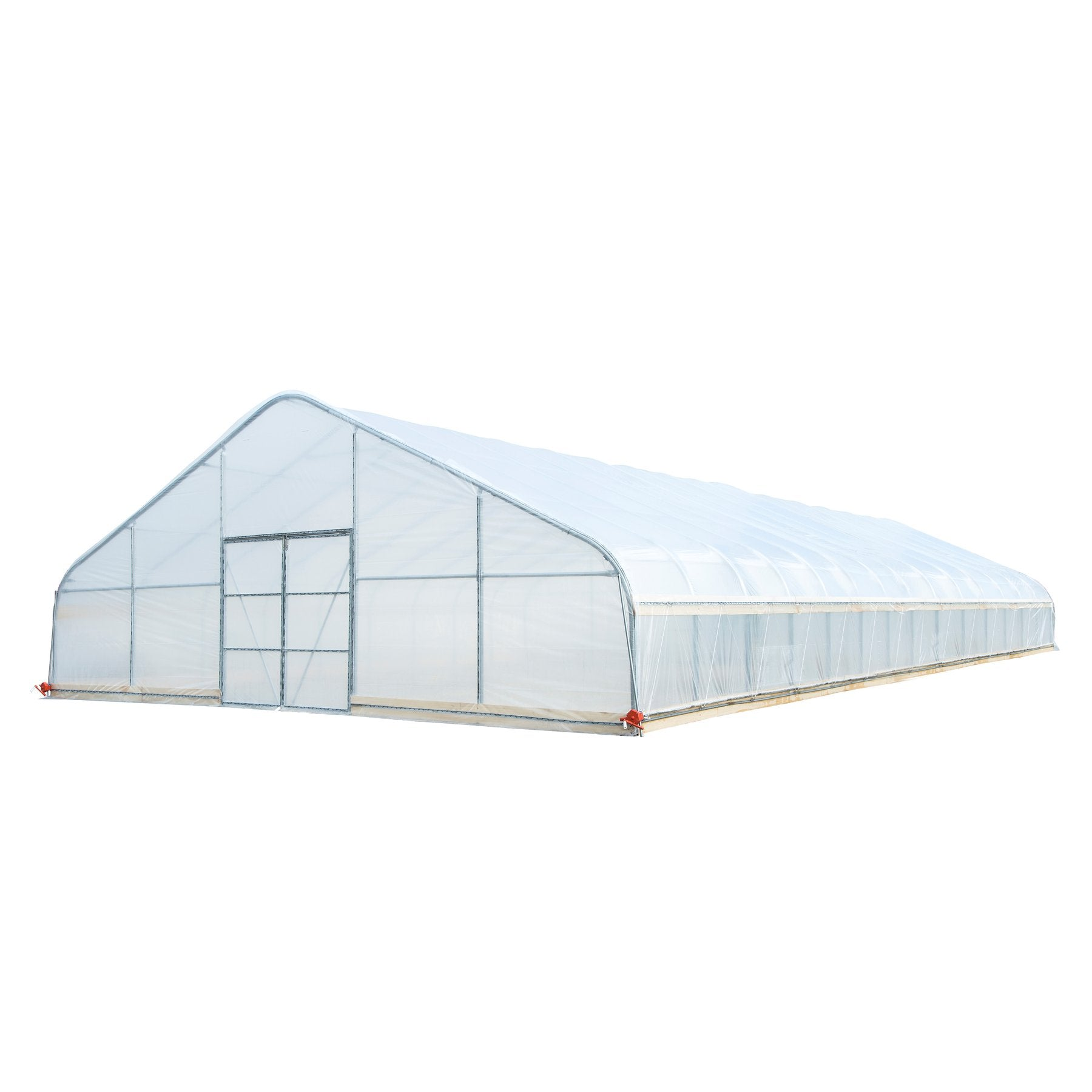 30' x 80' Walk-in Tunnel Greenhouse Grow Tent with 6mm Clear EVA Plastic