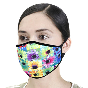 Face Mask Flower WASHABLE AND REUSABLE FACE MASK