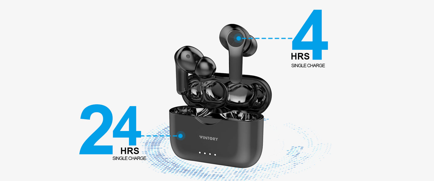 longest battery life wireless earbuds