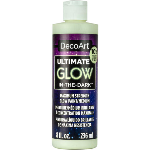 Ultimate Glow-In-The-Dark Paint 8oz