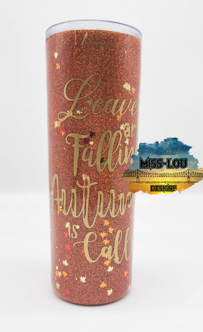 Autumn is Calling 20 oz Tumbler