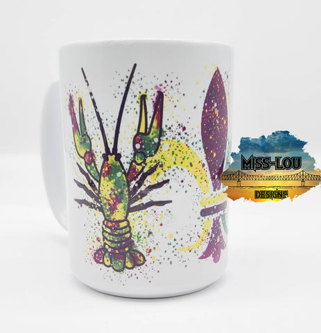 Crawfish 14 oz Coffee Mug
