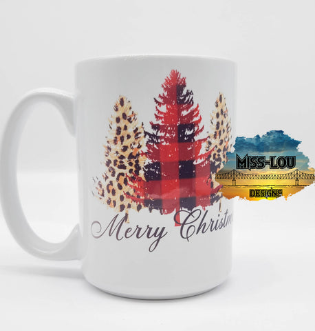 Merry Christmas 14 oz Coffee Mug
