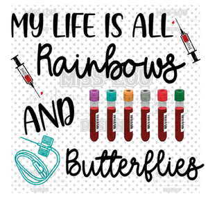 Rainbows and Butterflies Digital Download