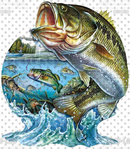 Bass Fish Digital Download