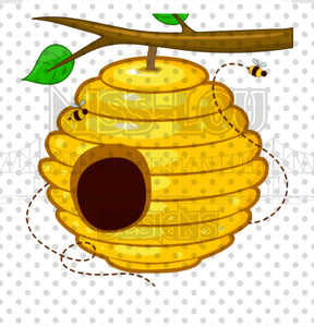Bee Hive Digital Download